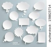 infographic design with white... | Shutterstock .eps vector #158825714