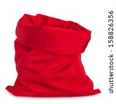 Santa Claus Red Bag  Isolated...