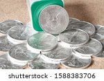 stack of uncirculated american...
