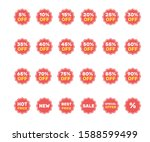 collection of labels for sale.... | Shutterstock .eps vector #1588599499
