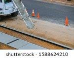 Cement Mixer Truck Transport...