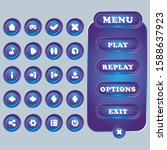 buttons for user interface...
