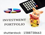 Small photo of Investment portfolio.Effectively assess the liquidity of securities, return on deposits, shares, bonds, profit of financial investments, successfully apply the strategy, take into account risks.