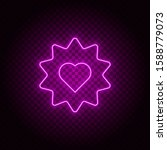 heart  star vector icon....