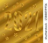gold halftone gradient...   Shutterstock .eps vector #1588859956