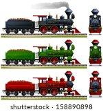 Wild West Steam Locomotive....