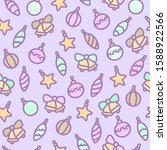 seamless gentle pattern for... | Shutterstock . vector #1588922566
