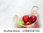 Fresh Apples In Reusable...