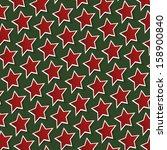 Christmas Background: Stars - stock photo