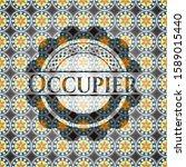 occupier arabesque emblem... | Shutterstock .eps vector #1589015440