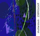 collage contemporary vector... | Shutterstock .eps vector #1589016169