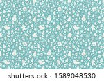 christmas seamless pattern.... | Shutterstock .eps vector #1589048530