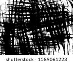 dirty lines background. grunge... | Shutterstock .eps vector #1589061223