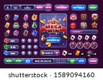 casino design elements vector...
