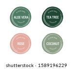 organic and natural label of... | Shutterstock .eps vector #1589196229