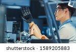Futuristic Prosthetic Robot Arm ...