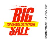 top collections brands sale... | Shutterstock .eps vector #158927459