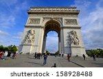 paris  france october 12  the... | Shutterstock . vector #158928488