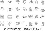 business ethics thin icon...   Shutterstock .eps vector #1589311873