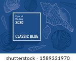 classic blue   color of the... | Shutterstock .eps vector #1589331970