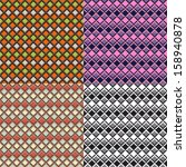 geometric seamless pattern.... | Shutterstock .eps vector #158940878