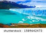 Mountain Lake Glacier Landscape ...