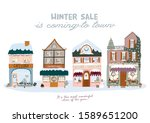 sale print with beautiful... | Shutterstock .eps vector #1589651200