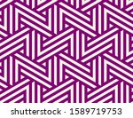 pattern with color lines on...   Shutterstock .eps vector #1589719753