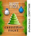 poster  banner or flyer design... | Shutterstock .eps vector #158977688