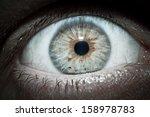 Green Eyes Opened In Horror