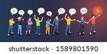 social audience influence ... | Shutterstock .eps vector #1589801590