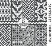 seamless geometric set models... | Shutterstock .eps vector #1589831650