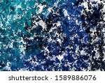 dark blue vector texture with... | Shutterstock .eps vector #1589886076