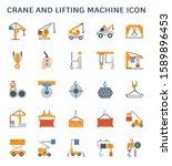 Crane Icon Or Lifting Equipment ...