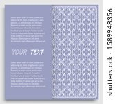 card  invitation  cover... | Shutterstock .eps vector #1589948356