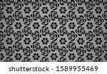 flower geometric pattern.... | Shutterstock . vector #1589955469