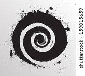 grunge shape | Shutterstock .eps vector #159015659