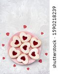 Heart Shaped Linzer Cookies For ...