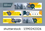 abstract banner design web... | Shutterstock .eps vector #1590242326