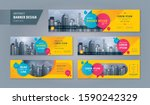 abstract banner design web... | Shutterstock .eps vector #1590242329