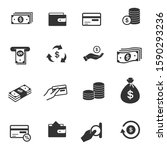 simple icon set related to... | Shutterstock .eps vector #1590293236