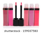 Beautiful Lip Glosses  Isolated ...