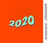 vector design happy new year...   Shutterstock .eps vector #1590430249