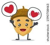 vector illustration of adorable ...   Shutterstock .eps vector #1590708463