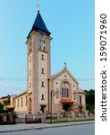 terchova village   slovakia | Shutterstock . vector #159071960