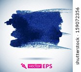 vector watercolor ink spot.... | Shutterstock .eps vector #159072356