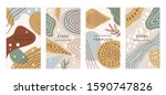 creative hard paint cover... | Shutterstock .eps vector #1590747826