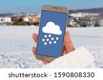 Winter snow weather forecast...