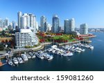 Stock photo vancouver in british columbia canada 159081260