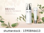 nature skincare product ads... | Shutterstock .eps vector #1590846613